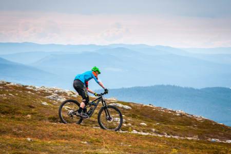 Bratt og heisbasert er noen av stikkordene for framtidas sykkelstatsing i Trysil. Foto: Hans Martin Nysæter