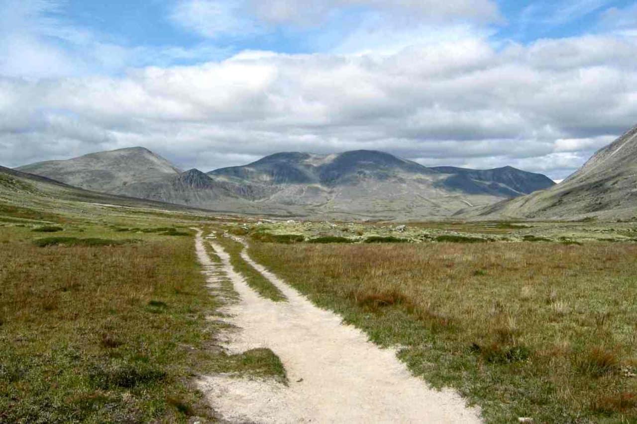 Rondane er en av fastlands-Norges 40 nasjonalparker der det kan åpnes for sykling. Derfor skal det forskes på slitasje fra sykling. Foto: Wikimedia