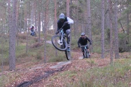 Vil trekke flere til sykkelparken i Kjerringåsen