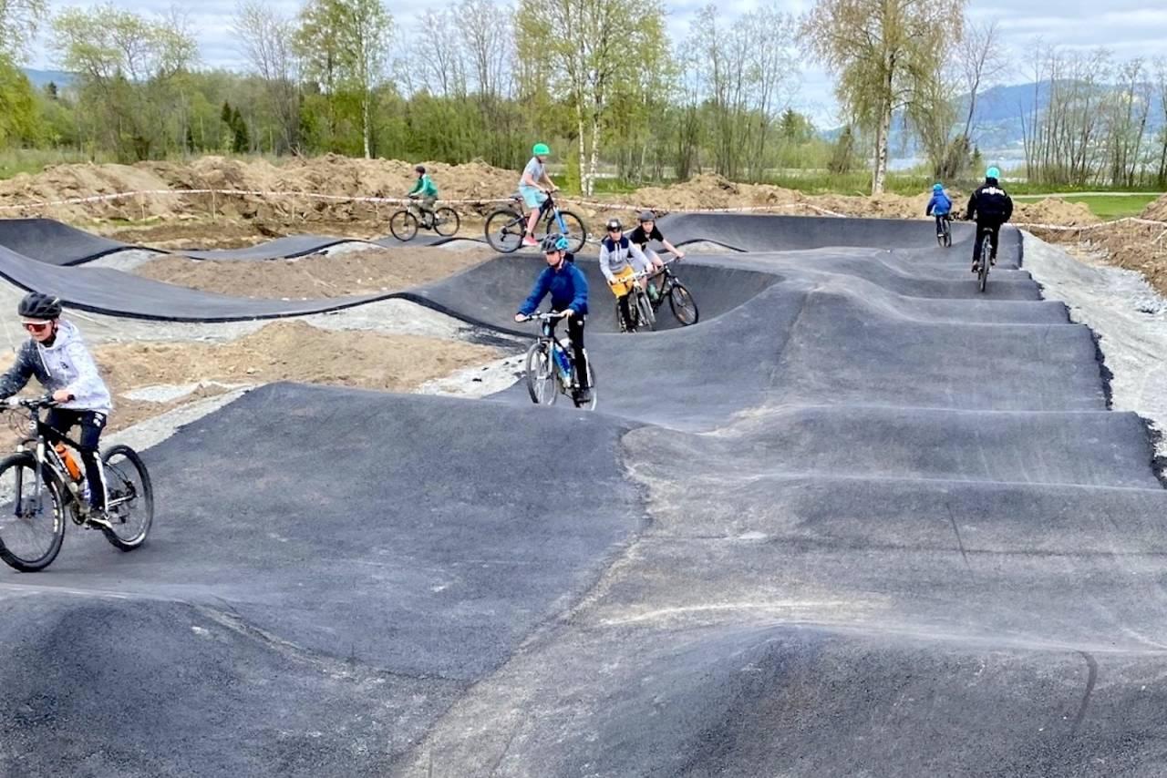 Pumptrack Årsøya Fritidspark Selbu