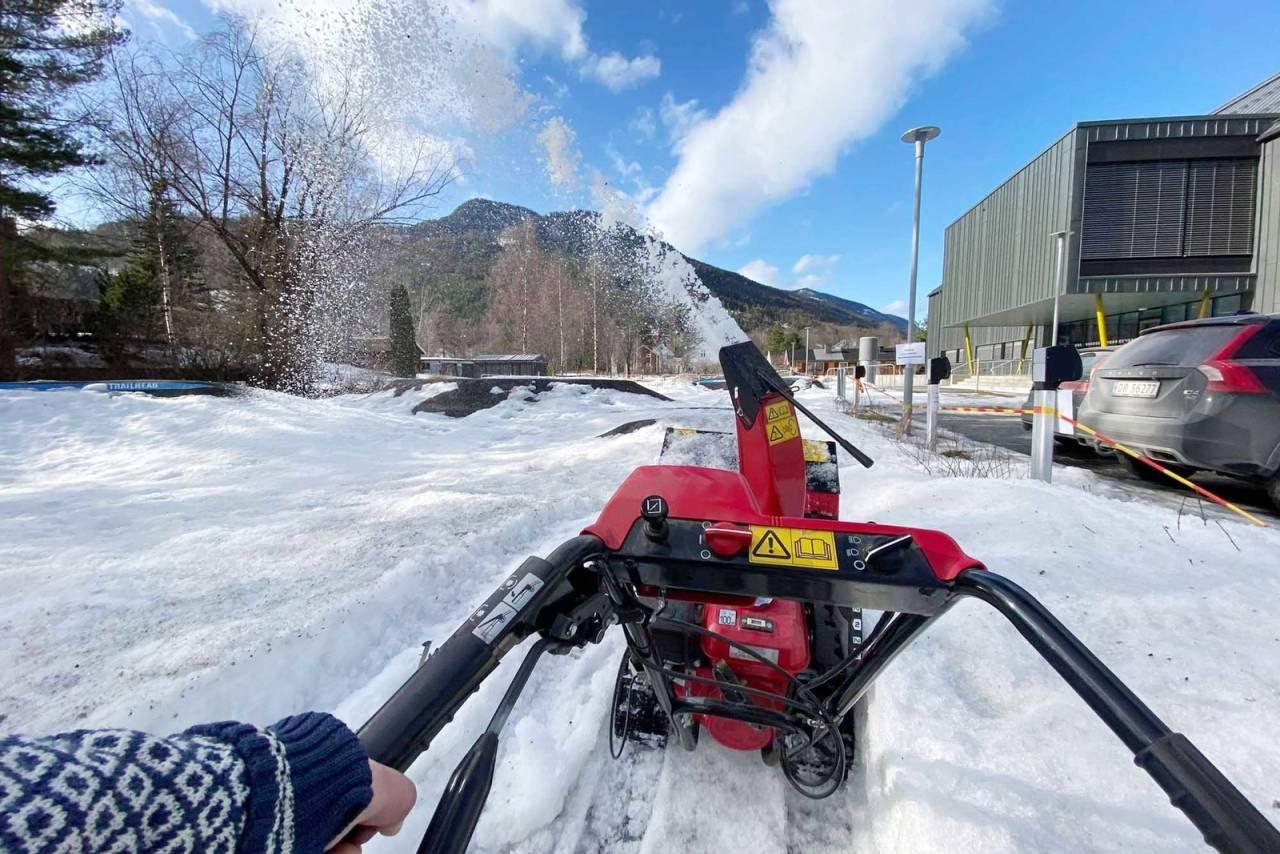 pumptrack nesbyen sentrum halllingdal snøfreser