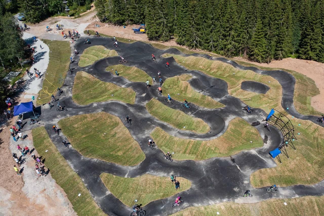 pumptrack norges største trysil