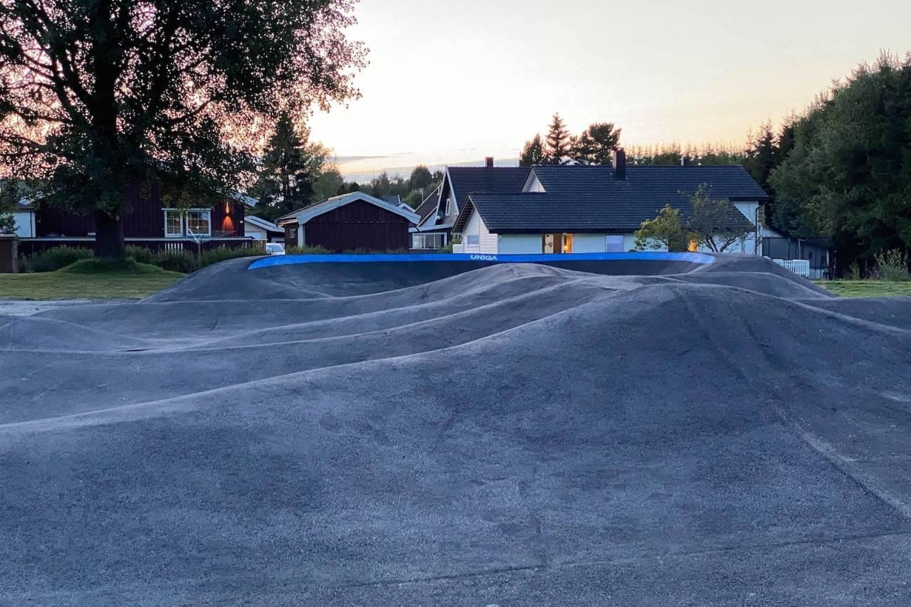 Pumptracken i Trømborg i Indre Østfold