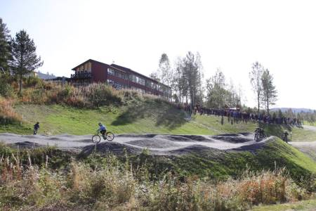 Valdres pumptrack Hedalen Norge MTB terrengsykkel