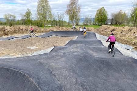 Pumptrack Årsøya fritidspark