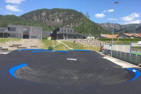 Pumptracken på Tonstad