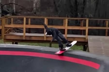 pumptrack snowboard