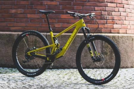 santa cruz tallboy sykkel test review MTB