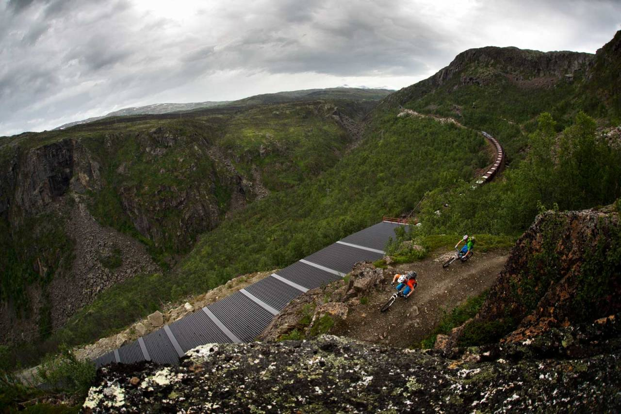 Fra Stisykling i Norge.