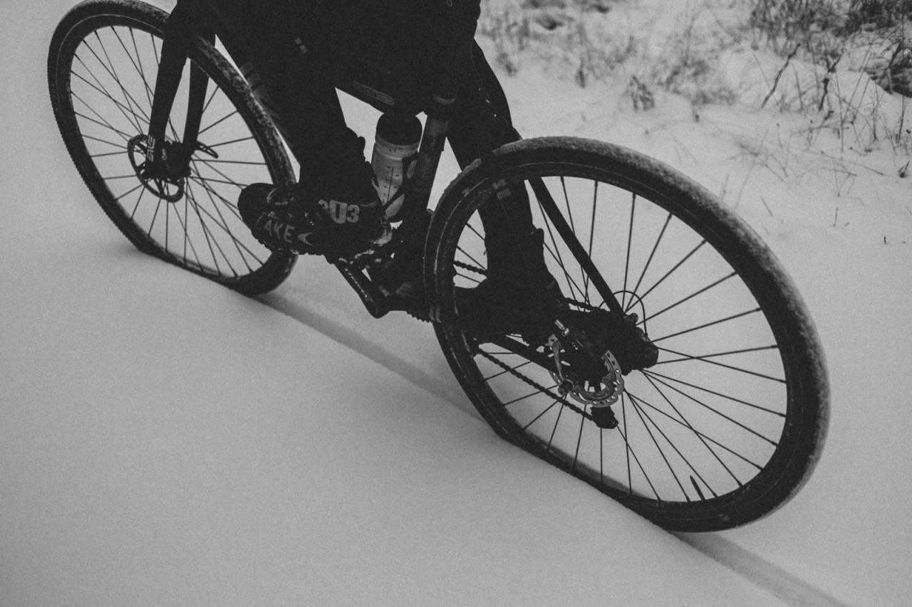 vintersykling tur nordmarka oslo