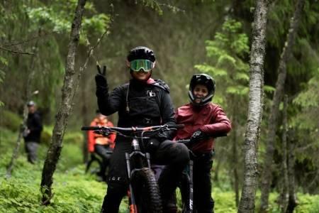 Huckfest fri flyt terrengsykkel