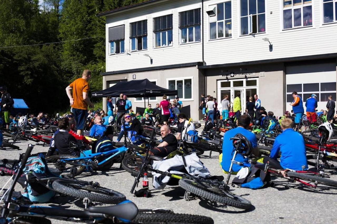 Afterbike på Sweet er fast tradisjon under Utflukt i Trysil. Foto: Snorre Veggan