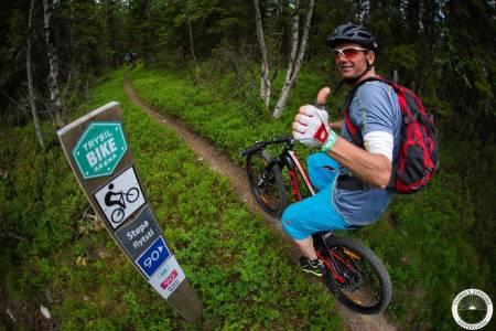 vanskelighetsgrad på sykkelstier