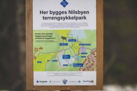 Nilsbyen terrengsykkelpark trondheim kommune penger bevilgning