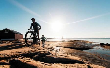 stisykling kragerø resort tips ferie sommer