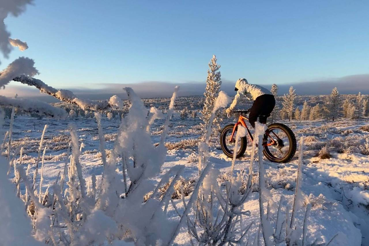 stisykling fatbike røros vintersykling