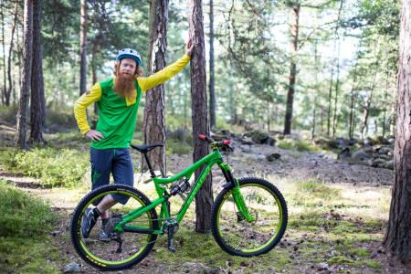 justere sykkel, justere dempere, rett dekktrykk, lufttrykk i dempere, bakdemper, fordemper, dempergaffel, aslak mørstad, brage vestavik
