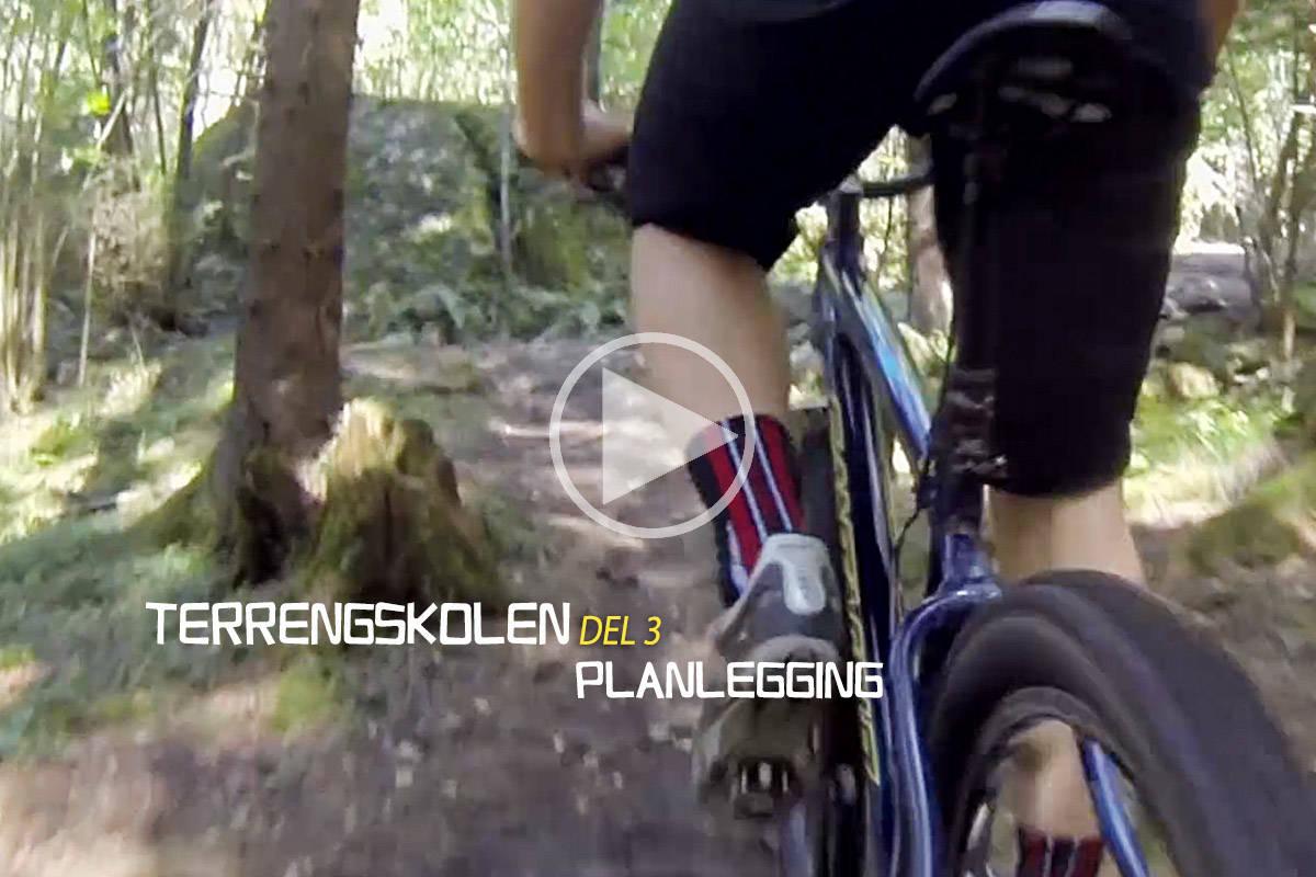 FØRE VAR: Hvis du har heve/senkepinne på sykkelen bør den i rett posisjon før neste krux.