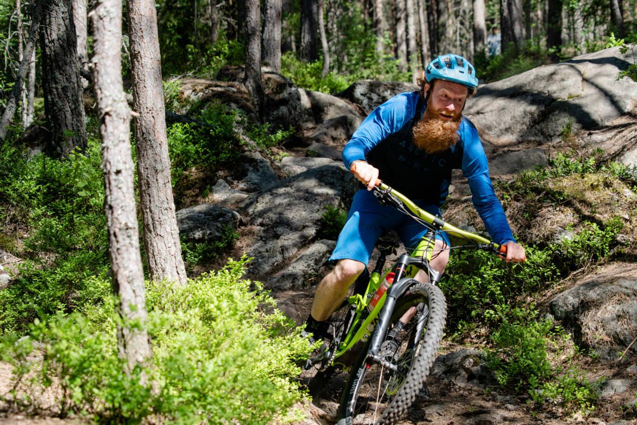 Programleder Aslak Mørstad vet godt hva han snakker om når det kommer til ritt og deler gjerne sine tips med Terrengsykkels lesere. Foto: Christian Nerdrum