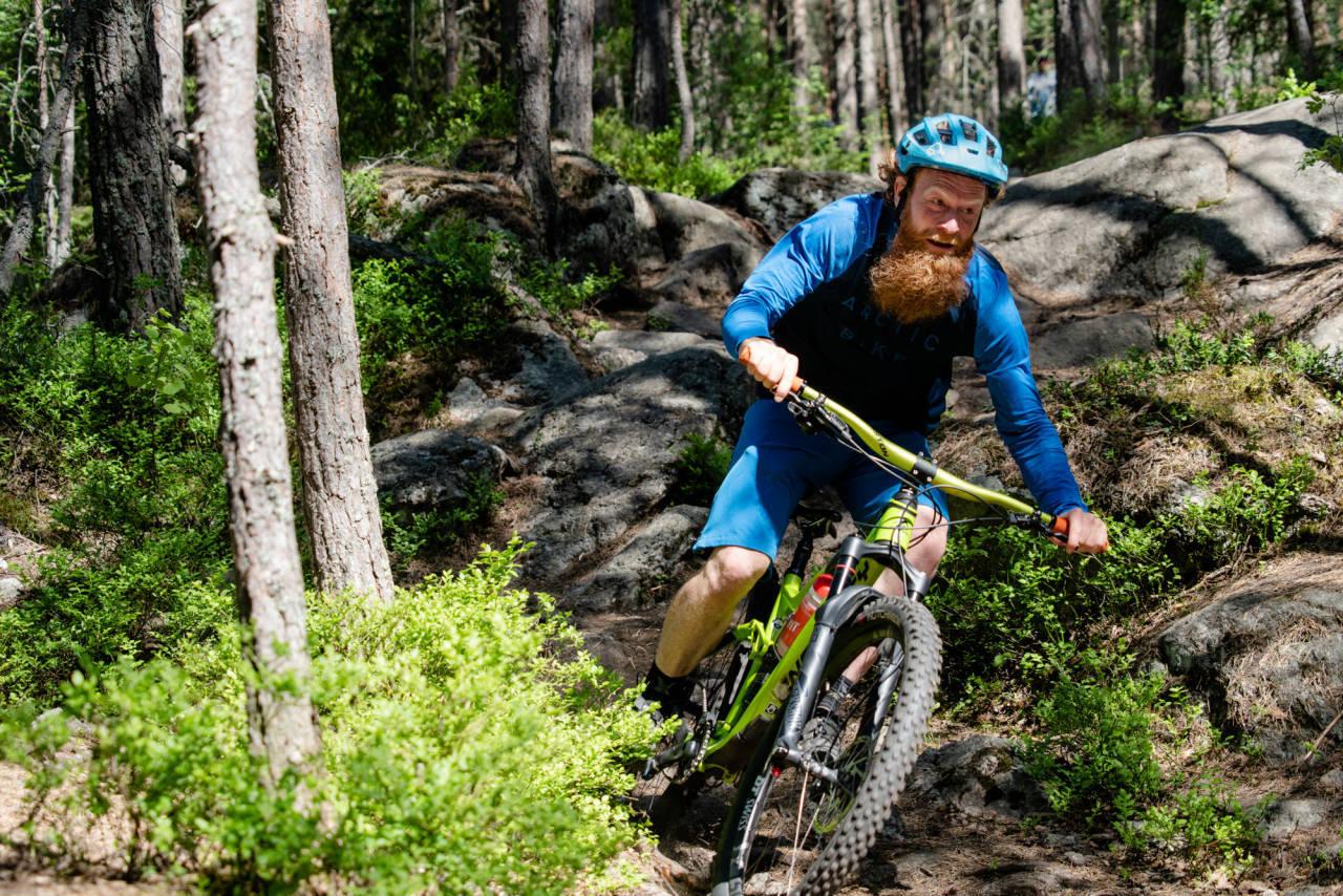 bedre svingteknikk sykkel terrengsykkel