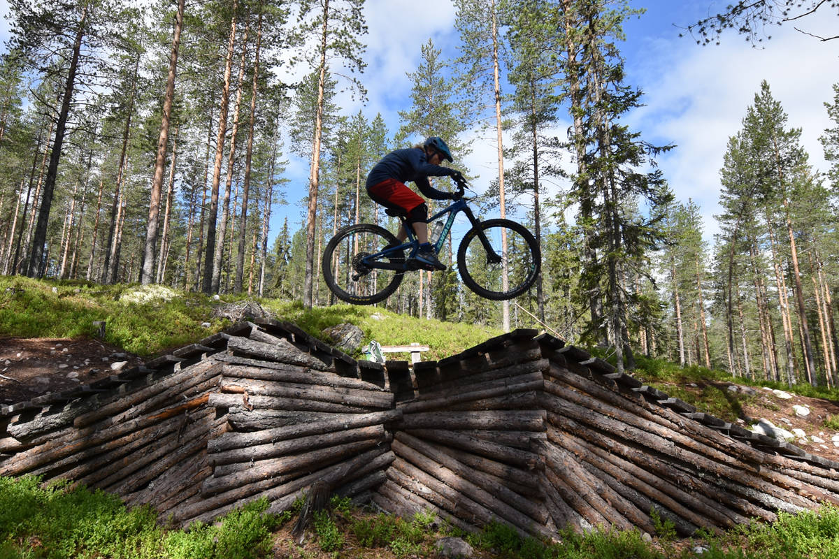 Trysil bike arena mustache fri flyt terrengsykkel mtb