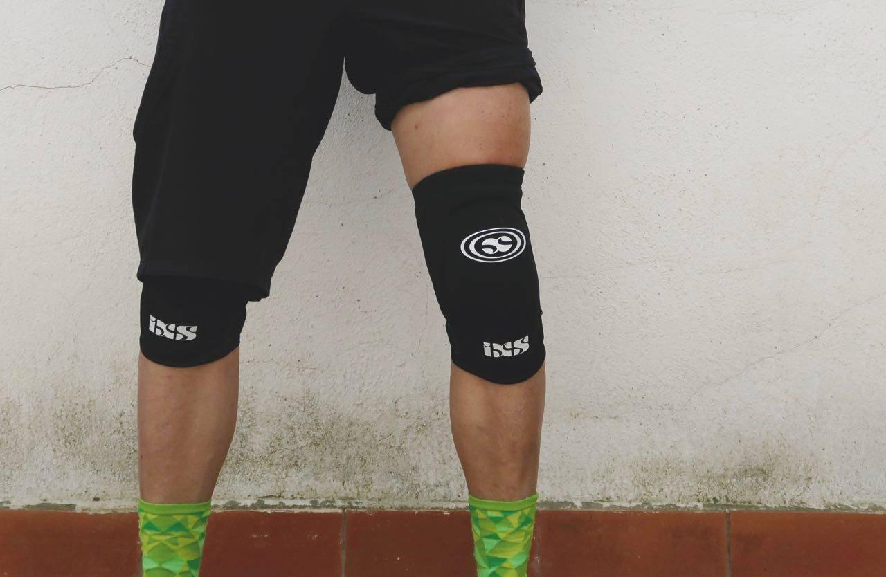 test ixs knebeskytter sykling