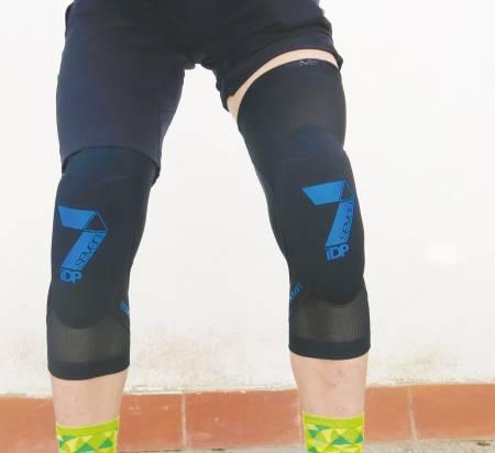 test knebeskyttere sykling seven transition
