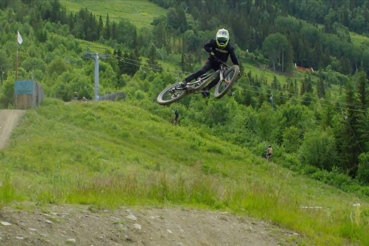 nico haglev sykkel dedikasjon terrengsykkel