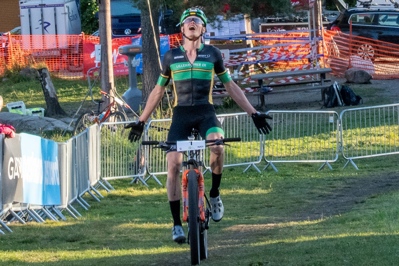 Erik Hægstad vant kortbane NM 2020