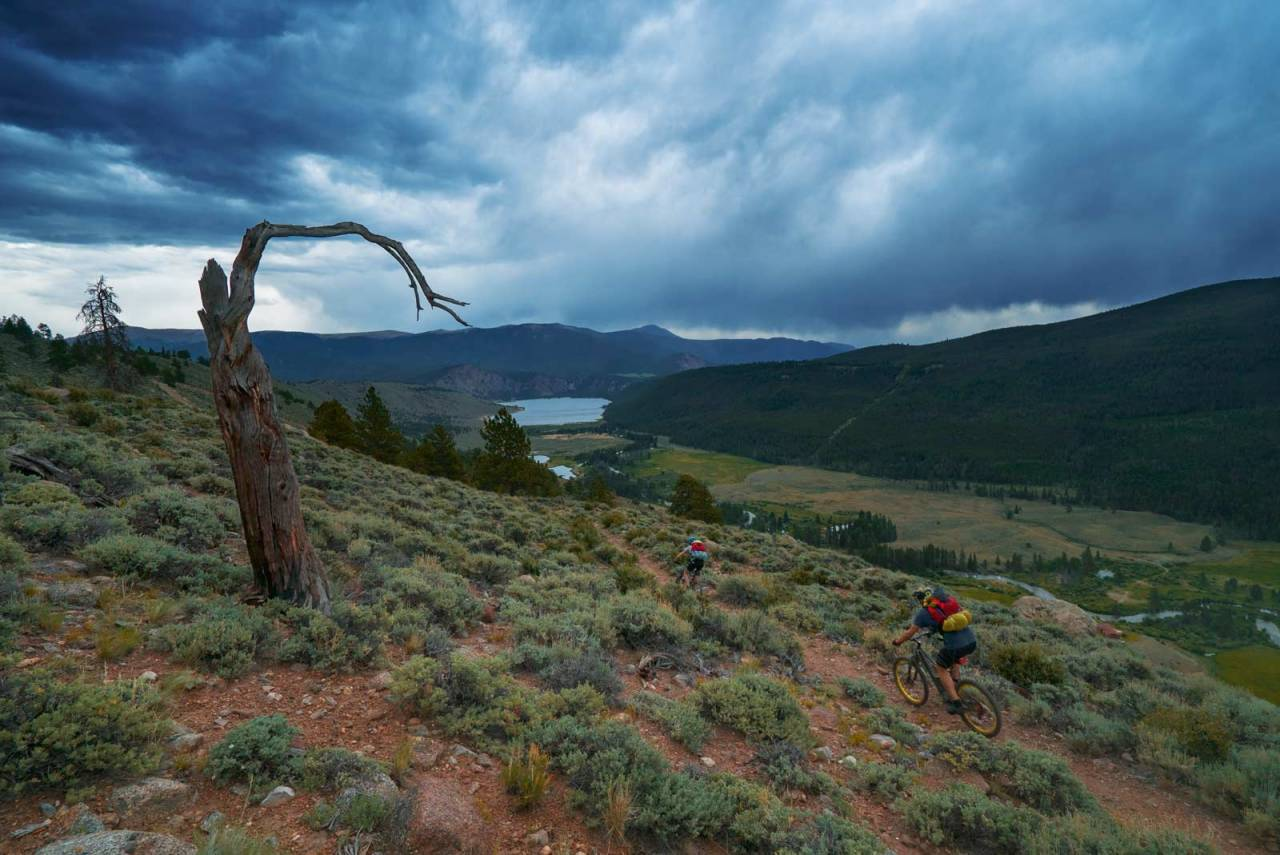 colorado trail stisykling