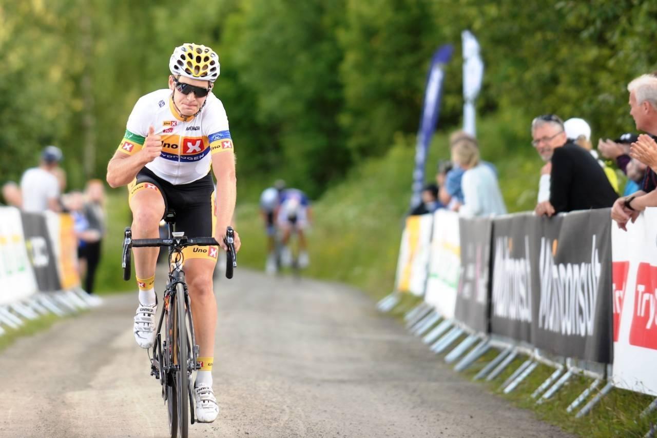 Audun Brekke Fløtten vant eliteklassen i Kongerittet 2021