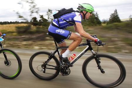 UTDATERT SYKKEL? Birkentoer Åsmund Romstad Løvik mener af det viktigste er å være kjent med sykkelen, og bryr seg lite om utstyrstrender.