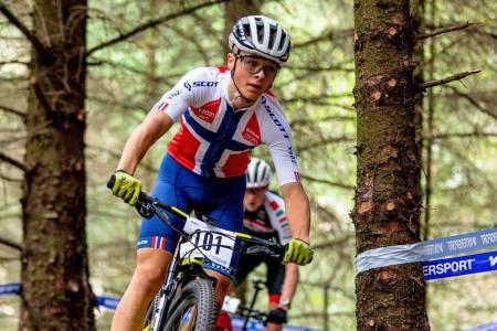 William Høines Larsen er en av tre EM-klare juniorer