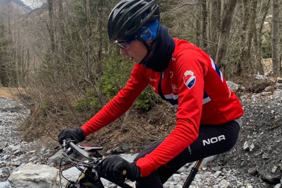 Mats Tubaas Glende kom på sjuendeplass i U23-klassen under sesongdebuten på UCI-rittet i Sveits