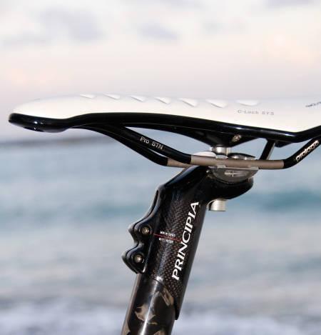 integrert setepinne sykkel