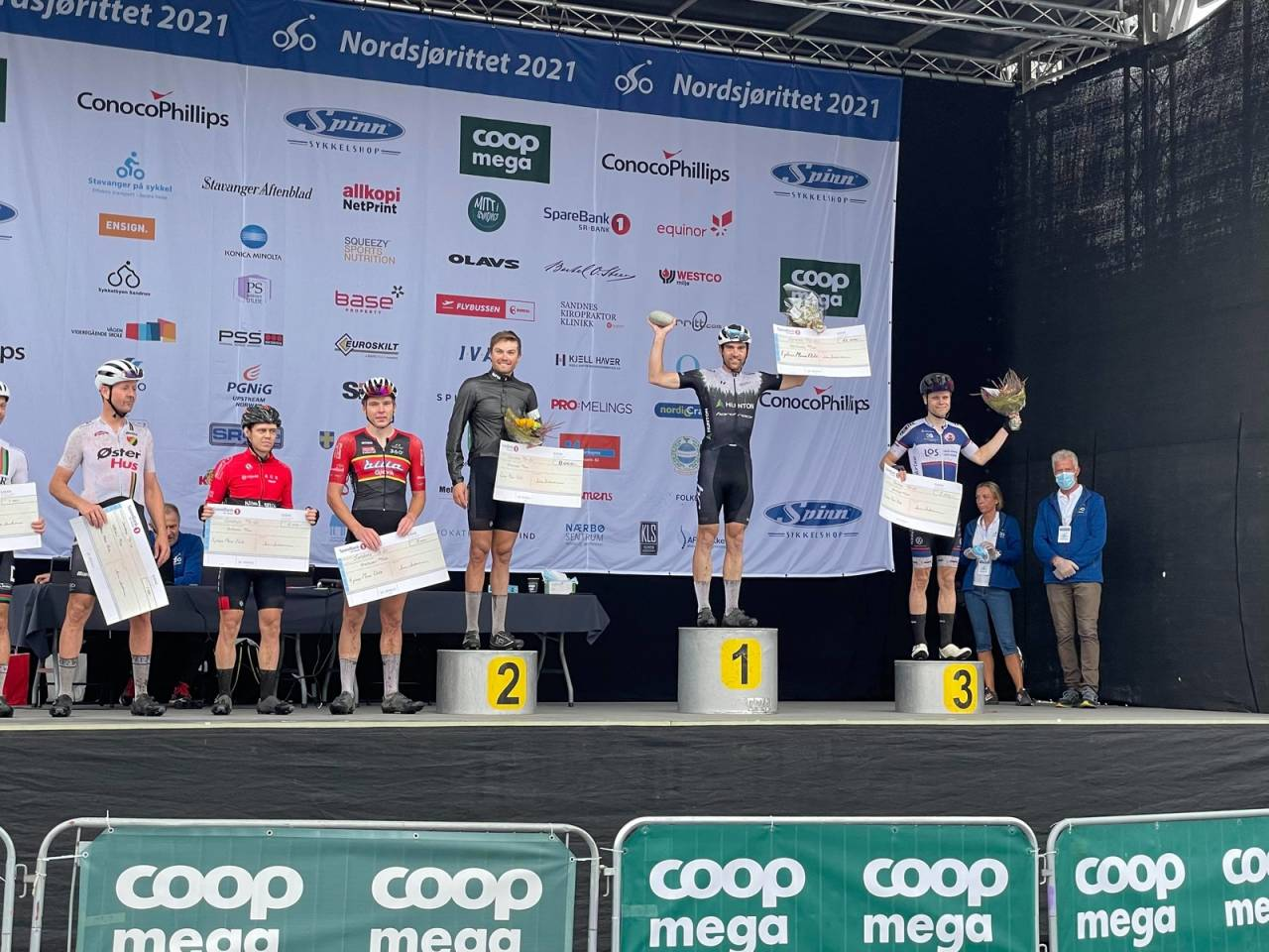 Vidar Mehl vant Nordsjørittet 2021