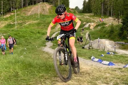 Ingrid Sofie Bøe Jacobsen tok sitt fjerde NM-gull i kortbane