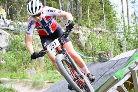 Oda LaForce under Norgescuprunden på Lillehammer 2021