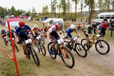Rye Terrengsykkelfestival Start