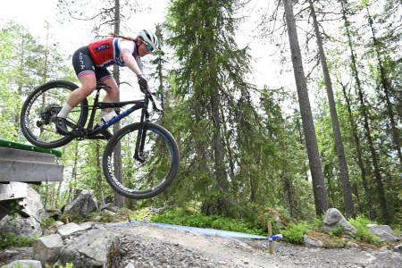 Elisabeth Sveum vant rundbanerittet i Norgescupen på Vigrestad
