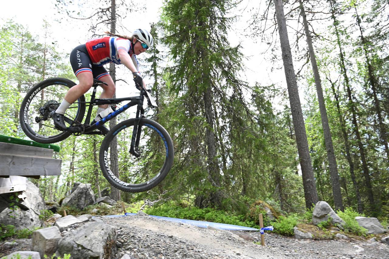 Elisabeth Sveum vant første ritt i Norgescupen i rundbane