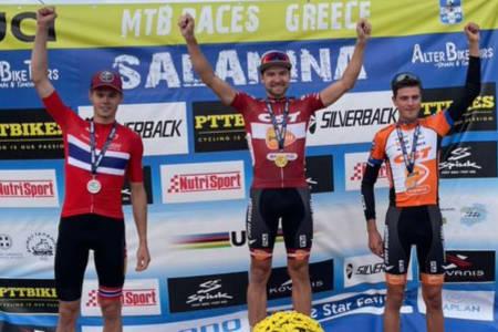 Erik Hægstad kom på andreplass i Salamina Epic