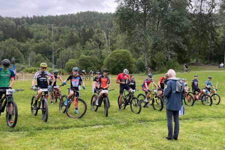 Terrengsykkelrittet I Oslo menn elite