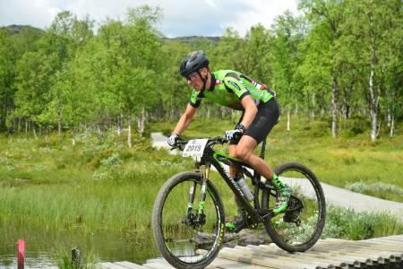 Espen Helgesen er en av fire norske Europamestre i terrengsykkel maraton etter helgas innsats i Furusjøen Rundt. Foto: Ola Dahl