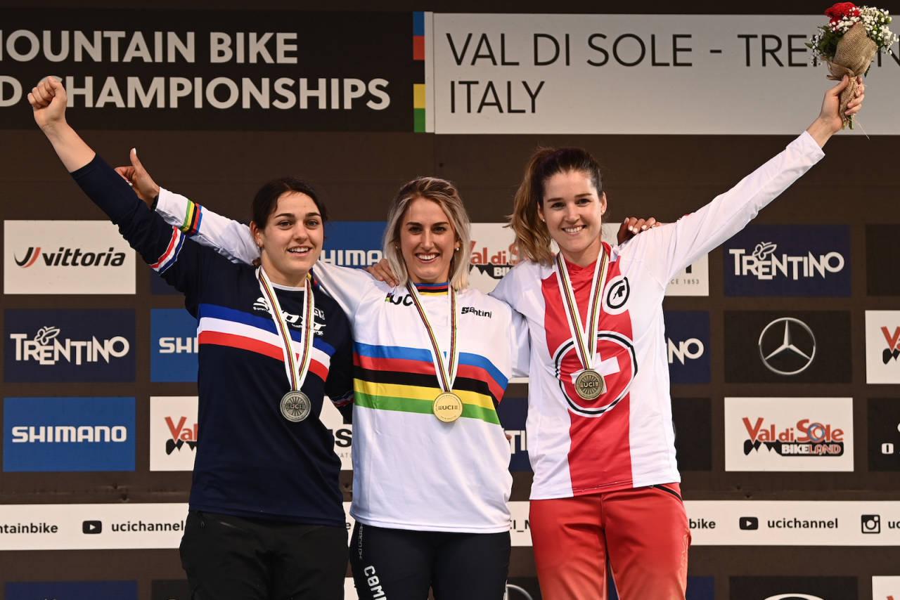Myriam Nicole fra Frankrike er verdensmester i utfor 2021