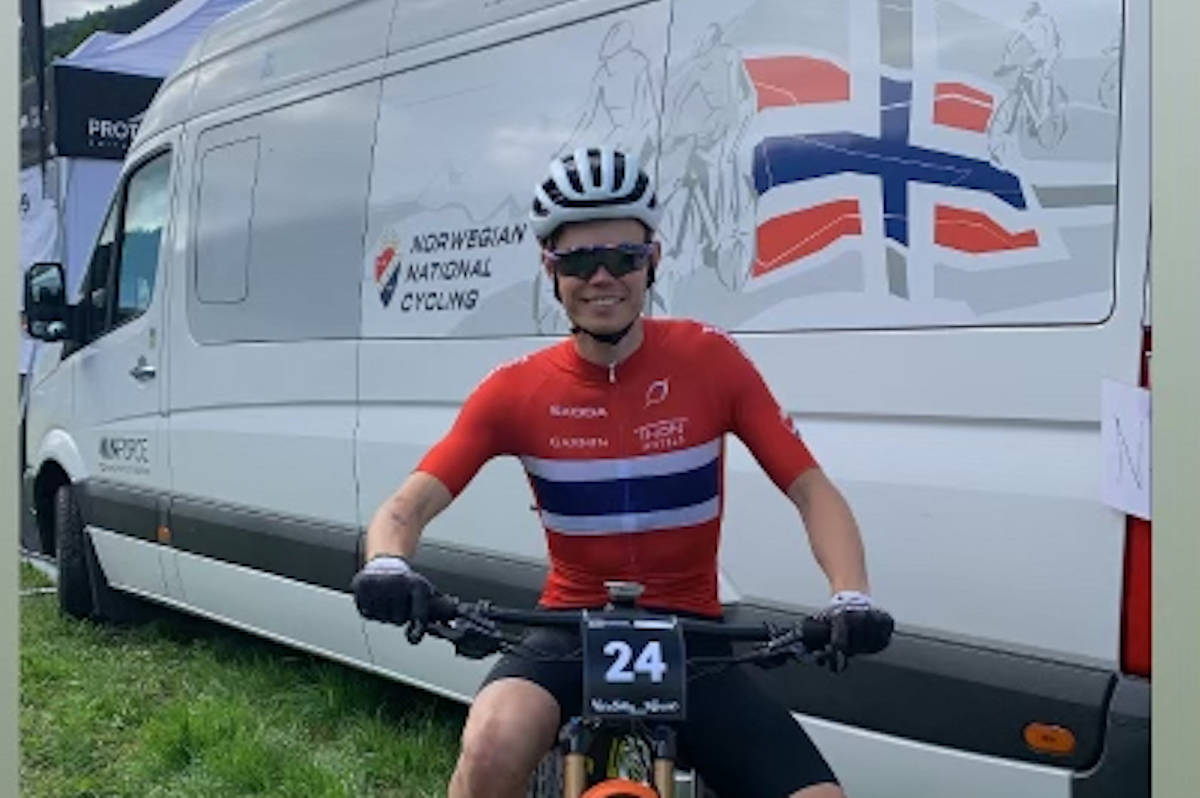 Erik Hægstad kvalifiserte seg til torsdagens kortbaneritt i VM