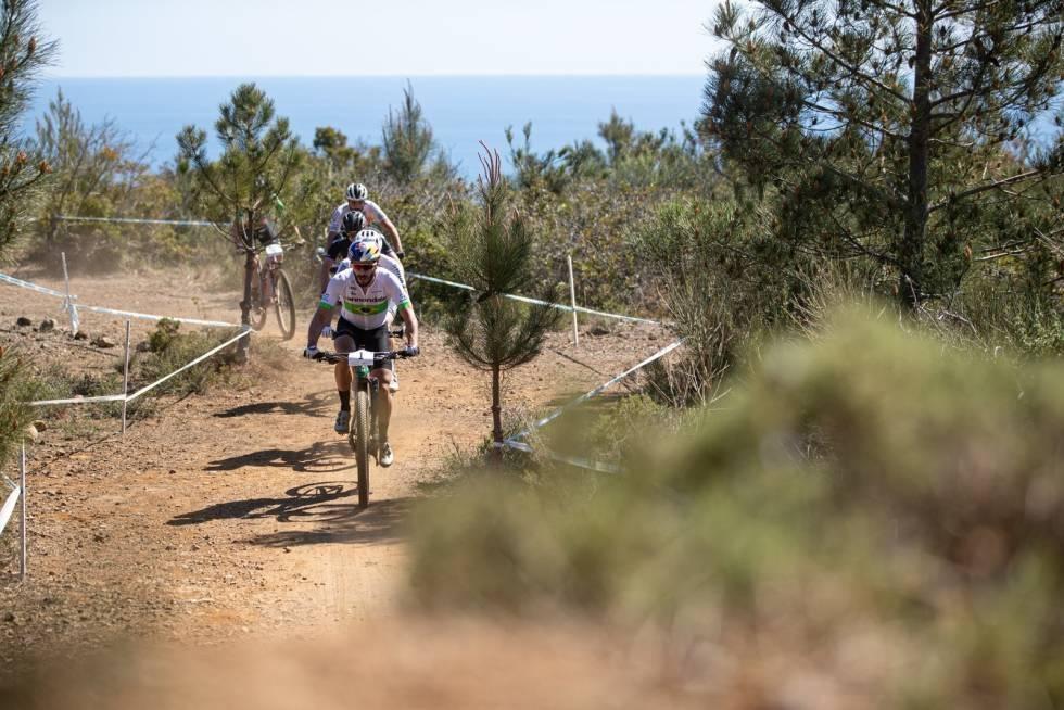 Nino Schurter på Elba