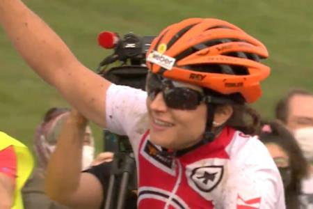 Ramona Forchini fra Sveits vant maraton-VM 2020
