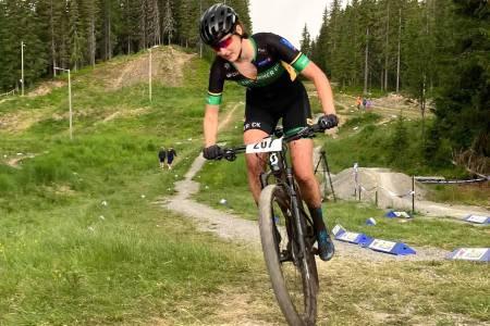Hedda Brennengen Bjørklund er klar for sitt første verdenscupritt