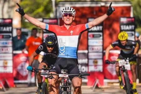 Jeroen van Eck vant sprintverdenscupen 2020